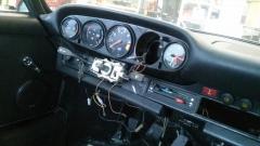 Porsche 911 ST dashboard