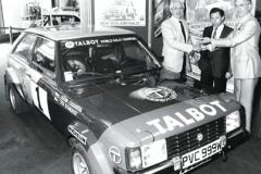 Víťazný Talbot Sunbeam Lotus